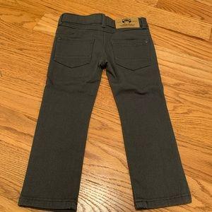 Appaman Black Skinny leg Denim Boys Pant Size 3T